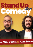 Stand up comedy cu Mocanu, Vio, Costel si invitat