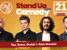 Stand up comedy cu Teo, Toma, Costel