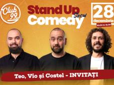 Stand up comedy cu Teo, Vio, Costel
