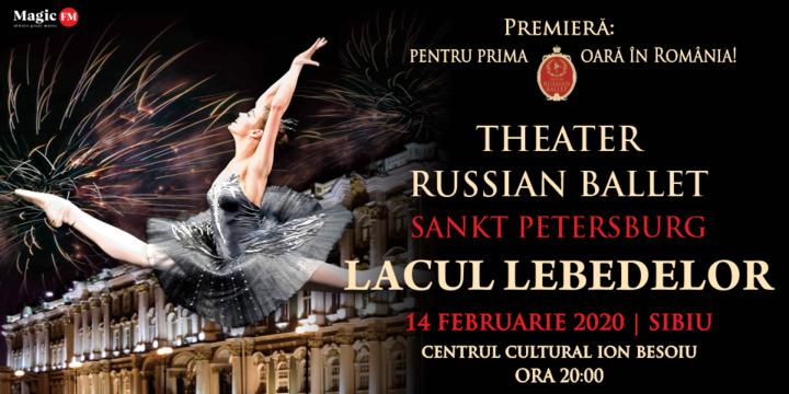 Sibiu: Theatre Russian Ballet - Sankt Petersburg - Lacul Lebedelor 2