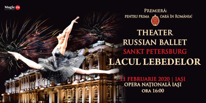 Iasi: Theatre Russian Ballet - Sankt Petersburg - Lacul Lebedelor 2
