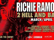 Richie Ramone // Chaos Commute // tba LIVE in Timisoara @Capcana