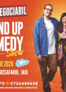 Iași: Stand up comedy cu Banciu, Maria Popovici si Mincu ''Ușor negociabil''