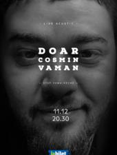 Doar Cosmin Vaman - Live Acustic la Stuff
