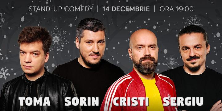 Stand-up cu Cristi, Toma, Sergiu și Sorin la ComicsClub!