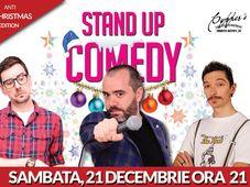 Stand-Up Comedy Sambata 21 Decembrie anti CHRISTMAS EDITION