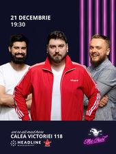 The Fool: Stand-up comedy cu Micutzu, Cortea și Mane Voicu