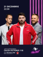 The Fool: Stand-up comedy cu Micutzu, Cortea și Mane Voicu