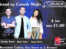 Stand Up Comedy cu George Tanase, Mane Voicu & Ioana State