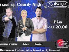 Stand Up Comedy cu Anisia Gafton, Serghei & Cristian Dumitru