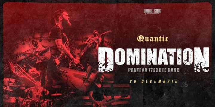 DOMINATION   – Pantera Tribute Band