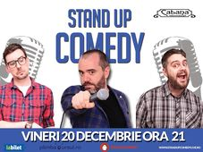 Stand Up Comedy cu Cristian Dumitru, Bogdan Nitu & Tiberiu Popovici