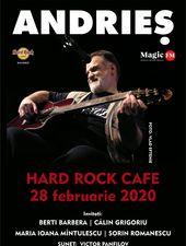 Andries revine la Hard Rock Cafe