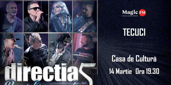Tecuci: Concert Directia 5 - Povestea Noastra