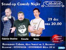Stand Up Comedy cu Cristian Dumitru, Marius Covache, George Bonea