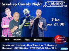 Stand Up Comedy cu Cristian Dumitru,Cristi Priza, Fulvio Balboni & Bogdan Nitu