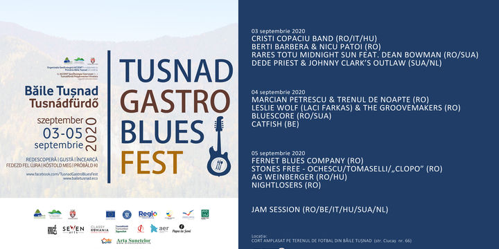 Tușnad Gastro Blues Fest 2020