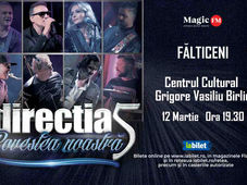 Falticeni: Concert Directia 5 - Povestea Noastra