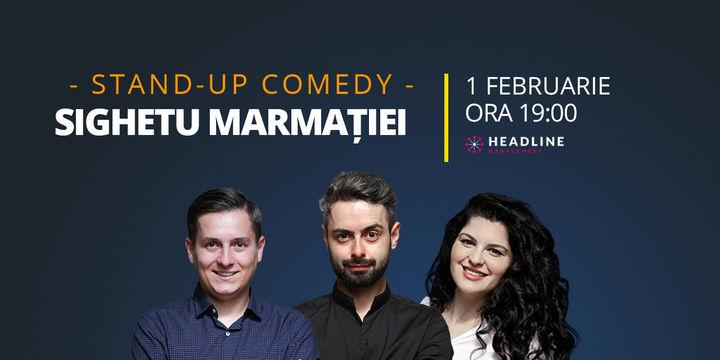 Sighetu Marmației: Stand-up comedy cu Bucălae, Tănase și Ioana State