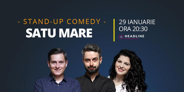 Satu Mare: Stand-up comedy cu Bucălae, Tănase, și Ioana State