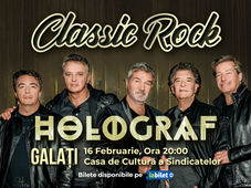 Galati: Concert Holograf - Classic Rock