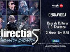 Cernavodă: Concert Directia 5 - Povestea Noastra