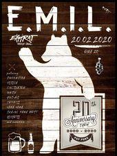 E.M.I.L. - aniversare 20 de ani / Expirat / 20.02.2020
