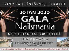 Gala Nailsmania - Gala Tehnicienelor de Elita din Romania