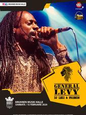 General Levy live in Kruhnen Musik Halle Brasov