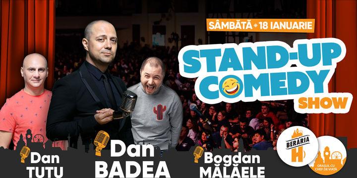 Stand-Up Comedy: Dan Badea, Dan Țuțu & Bogdan Mălăele