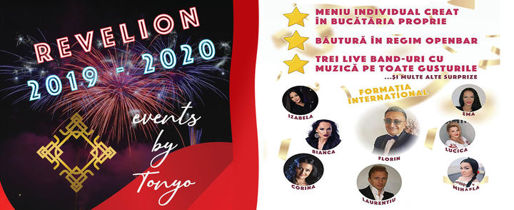 Revelion 2019 - 2020 Events by Tonyo - Sala Diamond
