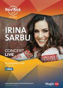 Concert Irina Sârbu pe 24 ianuarie