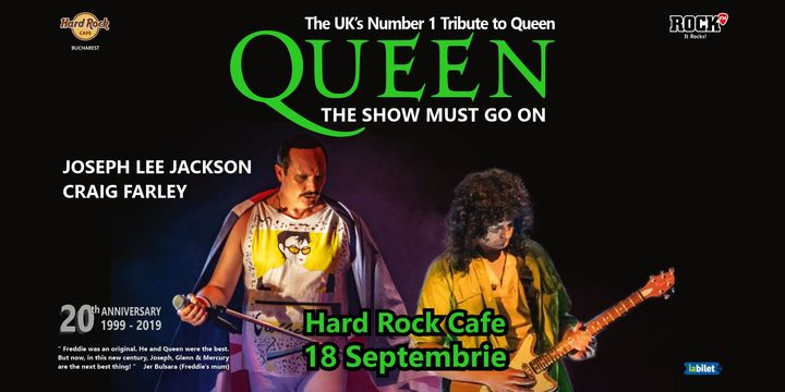 Tribut Queen - The Show Must Go on ( Joseph Lee Jackson & Craig Farlay)