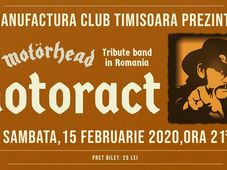 Motorhead Tribute: MotorAct LIVE in Capcana