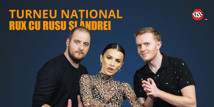 BRASOV: Stand-up Comedy RUX cu Rusu si Andrei
