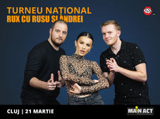 Cluj: Stand-up Comedy RUX cu Rusu si Andrei