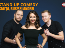 Cluj-Napoca: Stand-up Comedy cu Calita, Rusu si Andrei