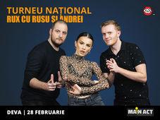 Deva: Stand-up Comedy RUX cu Rusu si Andrei