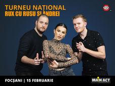 Focsani: Stand-up Comedy RUX cu Rusu si Andrei