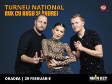 Oradea: Stand-up Comedy RUX cu Rusu si Andrei
