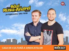 Oradea: Stand-up Comedy cu Rusu si Andrei
