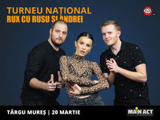 Targu Mures: Stand-up Comedy RUX cu Rusu si Andrei