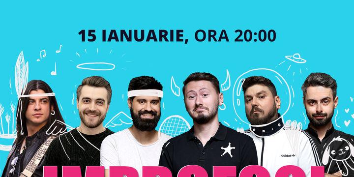 Improfool cu Micutzu, Bucălae, Geo, Claudiu, Coșarcă și Ciprian