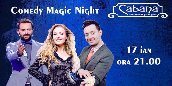 Comedy Magic Show cu Paul Lungu, Cristina Strecopitov & Magitot