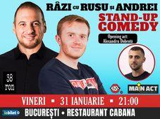 Stand Up Comedy cu Ionut Rusu & Andrei Ciobanu