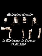 Timisoara: Malevolent Creation + support LIVE in Capcana