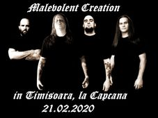 Timisoara: Malevolent Creation + support LIVE in Capcana