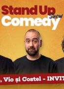 Stand up comedy cu Teo, Vio, Costel si invitat