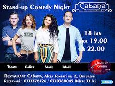 Stand Up Comedy cu George Tanase, Mane Voicu, Ana Maria Calita & Ioana State SHOW #1