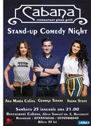 Stand Up Comedy cu George Tanase, Ana Maria Calita & Ioana State